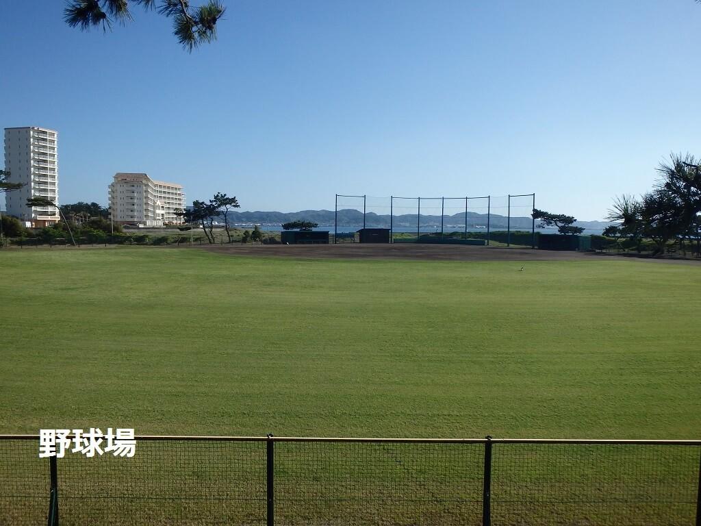 館山市営市民運動場野球場