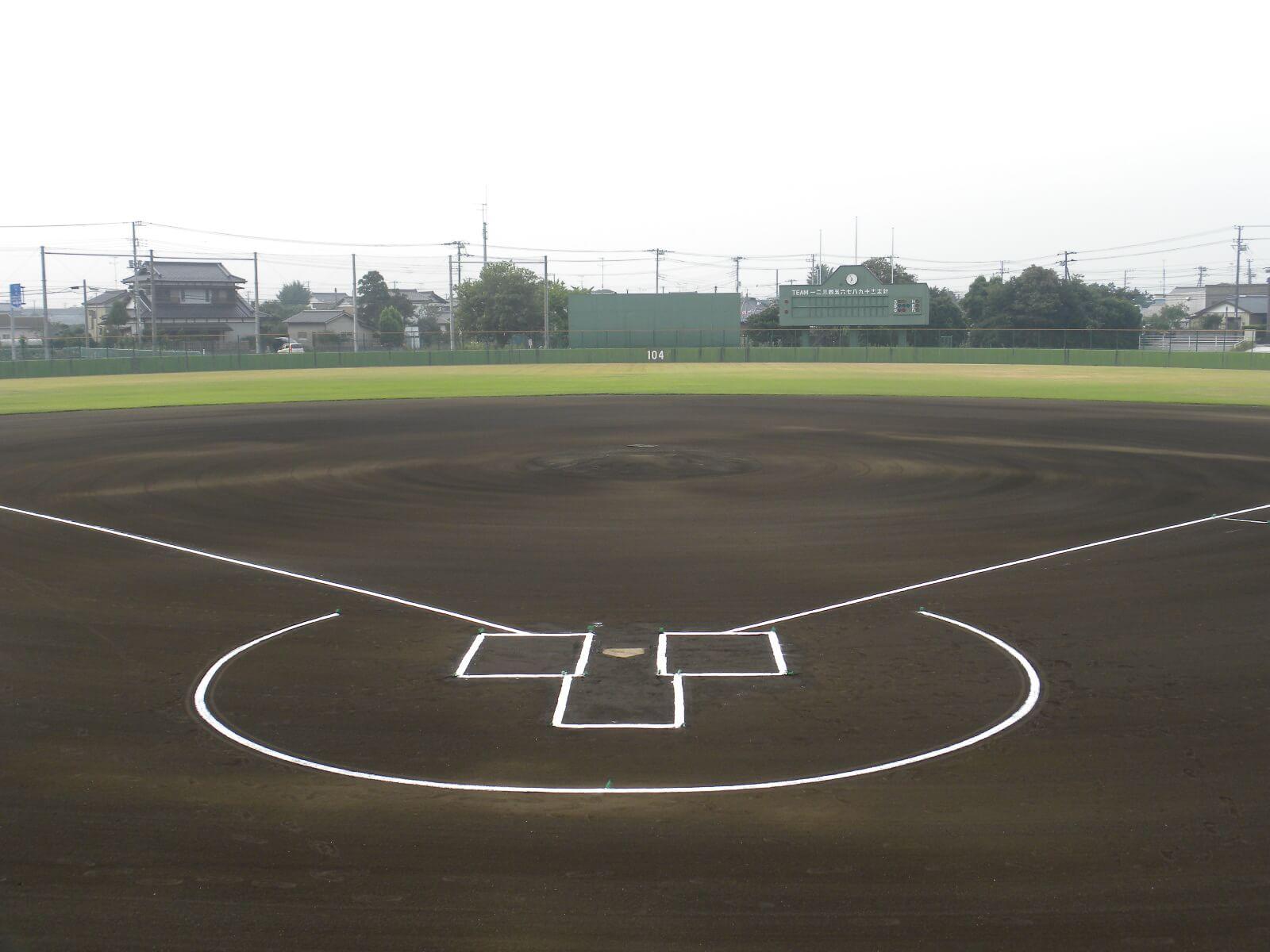 九十九里町野球場