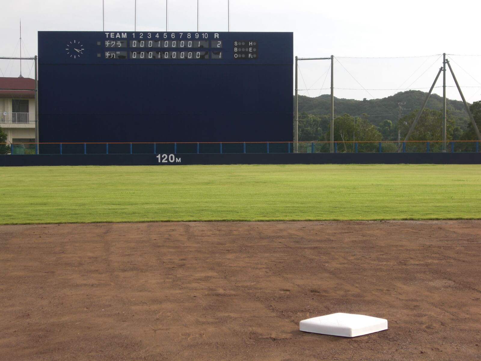 千倉総合運動公園野球場