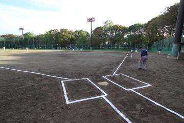 都立砧公園(野球場/サッカー場)