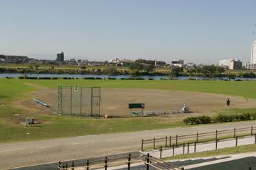多摩川ガス橋緑地野球場 | グラウンドKING ~使用できる ...