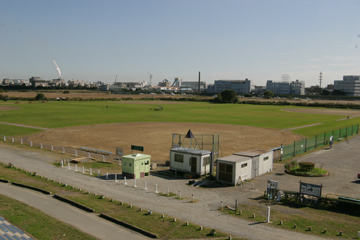 多摩川六郷橋緑地野球場 | グラウンドKING ~使用できる ...