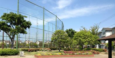 富岡西公園(野球場/テニスコート)