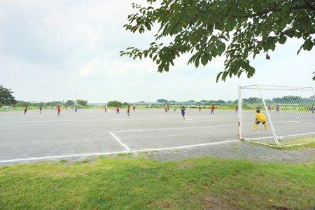 柏原河川敷公園(野球場/サッカー場/多目的広場)