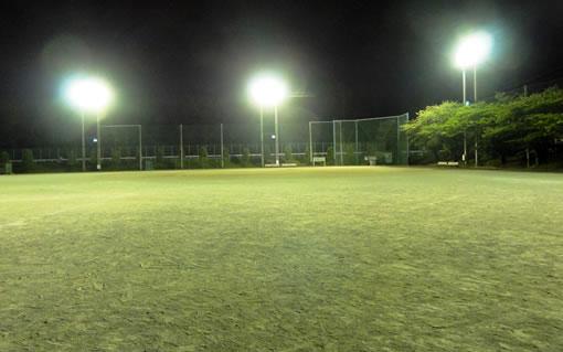東海南中学校夜間照明グランド