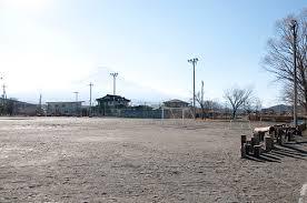 忍野中学校 グラウンド