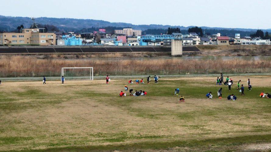 信濃川運動公園 野球場A